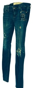 Abercrombie & Fitch Skinny Skinny Jeans-Distressed
