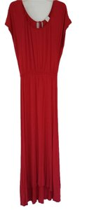 Red/Rose Maxi Dress by Ella Moss Maxi Jersey Knit