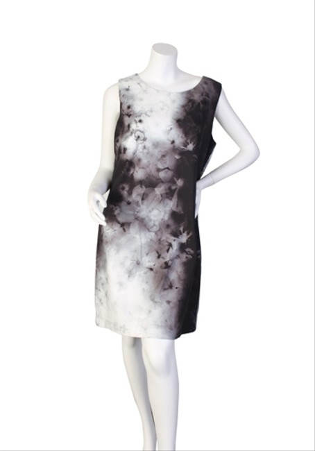 Elie Tahari short dress Black/White/Grey on Tradesy