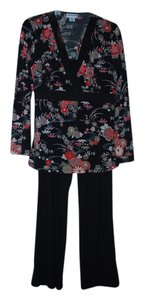 Motherhood Maternity Floral Top & Black Pant Set