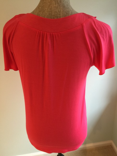 Other Size Small Tops Embellished Tops Embellished T- Size Small T- T Shirt Coral