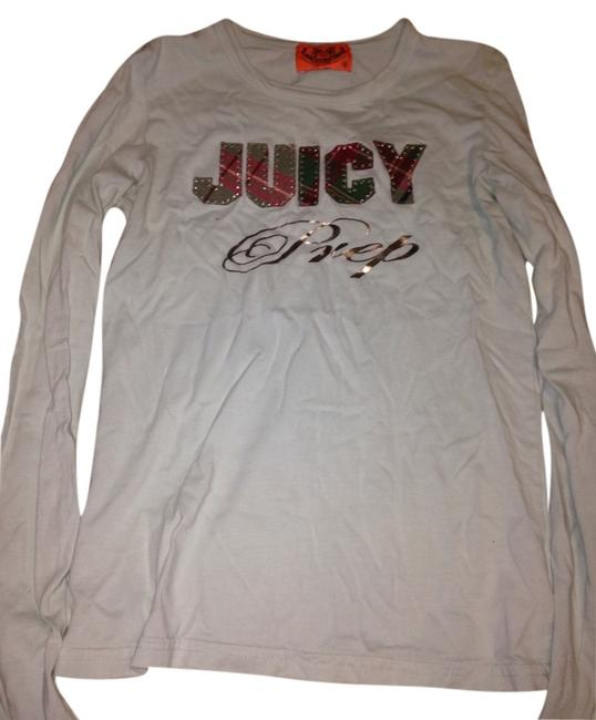 Preload https://item2.tradesy.com/images/juicy-couture-light-blue-tee-shirt-size-4-s-3332356-0-0.jpg?width=400&height=650