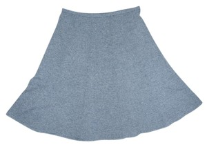 Grace Dane Lewis Gray A-line Quality Fall Winter Skirt Charcoal Grey