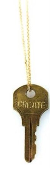 the giving keys Giving Key Necklace - Create