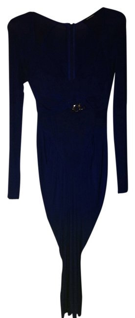 Preload https://item1.tradesy.com/images/roccobarocco-dress-navy-blue-3332605-0-0.jpg?width=400&height=650