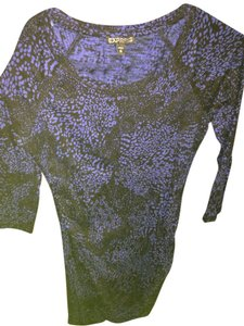 Express short dress Navy blue and black on Tradesy
