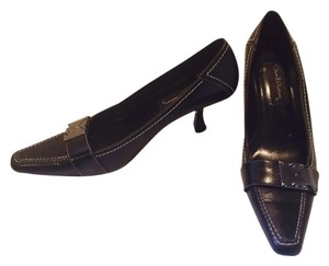 David Aaron Black/silver Pumps