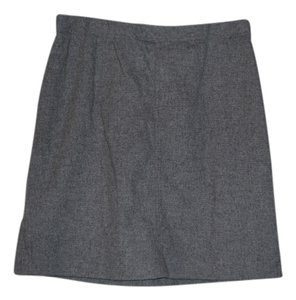 J.Crew Wool Skirt Grey