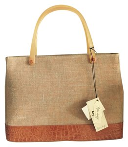 Retta Wolff Tote in Orange Crush