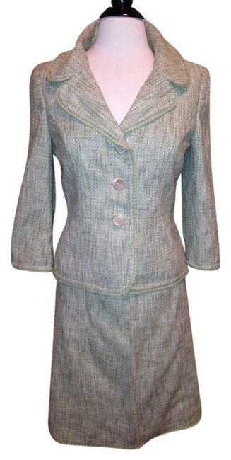 Item - Olive Green Skirt Suit Size 4 (S)