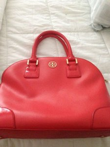 Tory Burch Satchel in Red/Orange