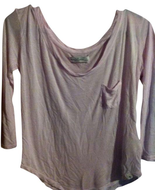 Preload https://img-static.tradesy.com/item/333448/abercrombie-and-fitch-light-pink-34-sleeve-small-a-and-f-tee-shirt-size-4-s-0-0-650-650.jpg