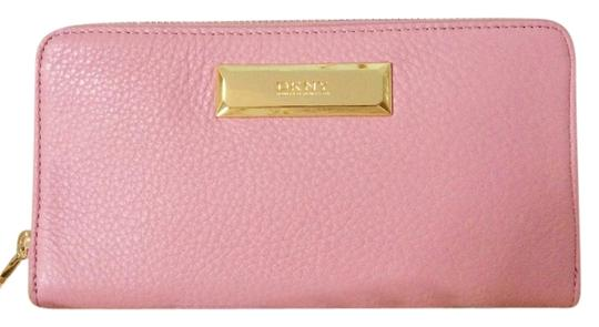 DKNY DKNY womens leather wallet pink