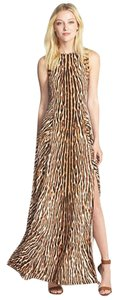 Michael Kors Zebra Maxi Studded Dress