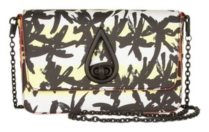Kenzo Chain Faux Leather Print Premium Shoulder Bag