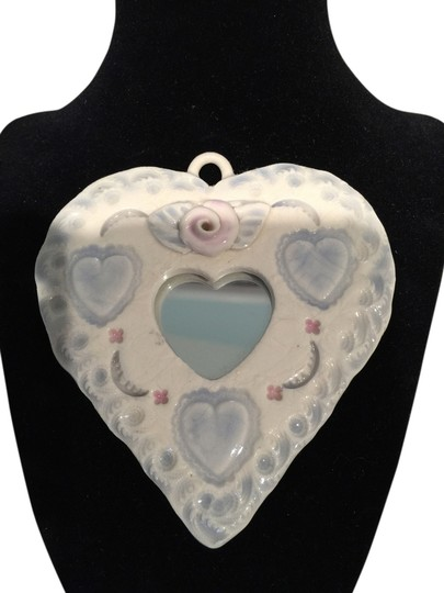 Other Handcrafted Ceramic Romantic Heart Mirror