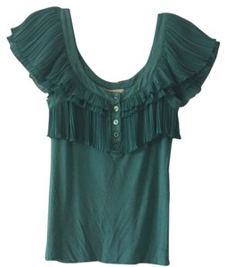 BCBGeneration Fashion Style Top Green