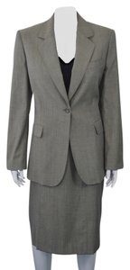 Iceberg ICEBERG DESIGNER GRAY WOOL BLEND 3 PC WOMEN'S SUIT SIZE 44/M ON SALE SK