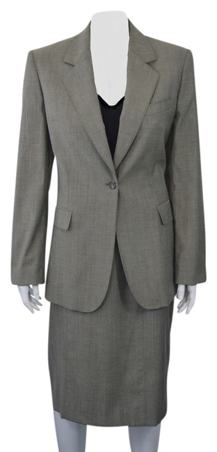Iceberg ICEBERG GRAY WOOL BLEND 3 PC WOMEN'S SUIT SIZE 44/M SK
