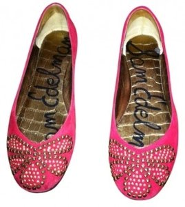 Sam Edelman red Flats
