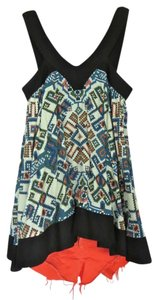 Topshop Tank Vintage Inspired Cute Fun Print Aztec Aztec Print Nyc Trendy Summer Spring 2014 Trends Cotton Quality Sleeveless Tunic