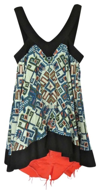 Topshop Vintage Inspired Cute Fun Print Aztec Aztec Print Nyc Trendy In Style Summer Spring 2014 Trends Cotton Quality Long Tunic