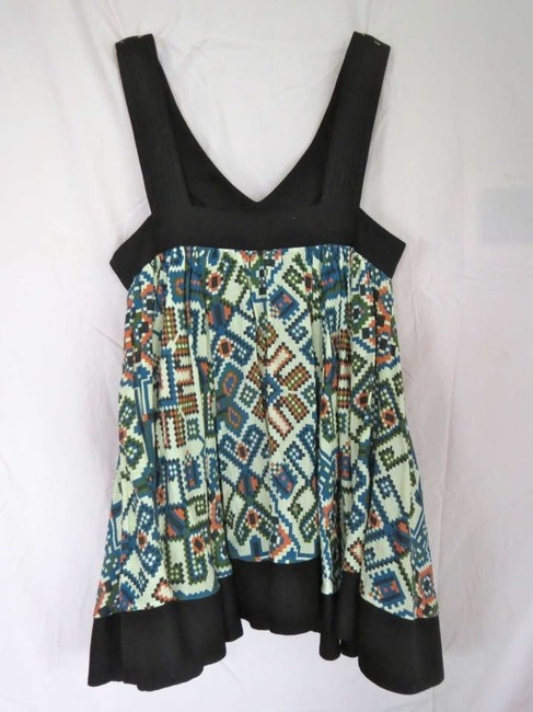 Topshop Vintage Inspired Cute Fun Print Aztec Aztec Print Nyc Trendy Summer Spring 2014 Trends Cotton Quality Sleeveless Long Tunic