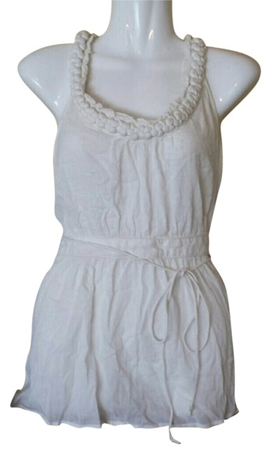 Preload https://item2.tradesy.com/images/anthropologie-off-white-floreat-braided-neckline-tunic-size-8-m-3336331-0-0.jpg?width=400&height=650