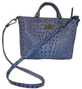 Brahmin Can Be Worn 3 Ways As A Mini Tote Or Satchel A Or A Crossbody Tags Attached But Does Not Include Registration Card Shoulder Bag