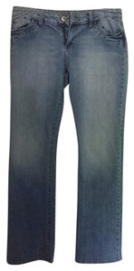 dELiA*s Summer Comfortable Straight Leg Jeans-Light Wash