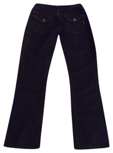 MEK Denim Voyage Blue Size 25 Pants Bottoms Straight Leg Jeans-Coated