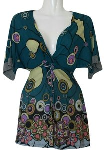 Urban Outfitters Lux Rayon Twisted Knot Uo Anthropologie Tunic
