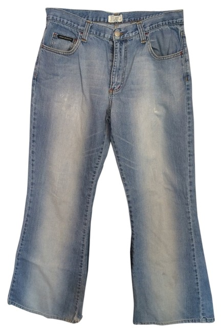 DKNY Relaxed Fit Jeans-Distressed