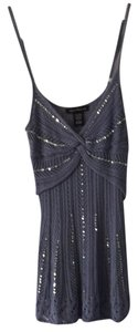 Heart Moon Star Sequin See Through Fun Causal Top
