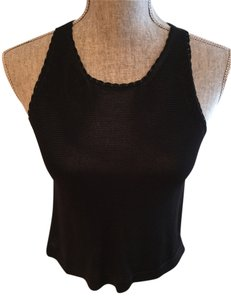 Tee Shirts Black Halter Top