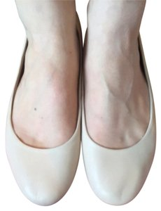 Easy Spirit Comfort Comfortable Leather Pale Nude Flats