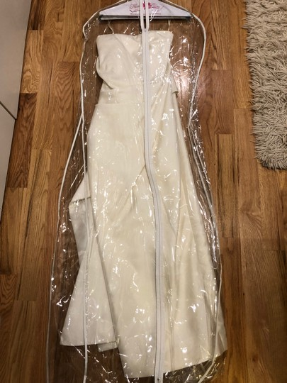 Carolina Herrera White Wedding Dress Size 6 (S)