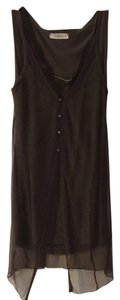Yuka T Shrit Lace 2 Pieces Cotton Top olive green