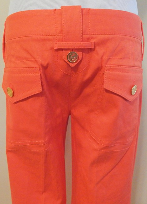 Dolce&Gabbana Cropped Trouser Capris Orange