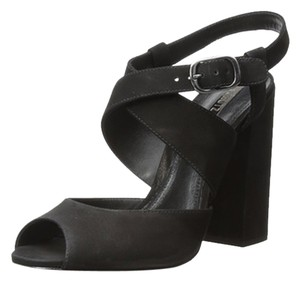SCHUTZ Wang Coach BLack Sandals