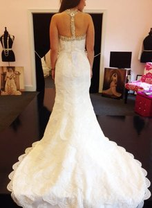 Moonlight Bridal Moonlight Bridal Tiered Lace Wedding Dress