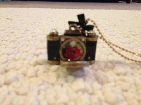Betsey Johnson Betsey Johnson Long Camera Necklace