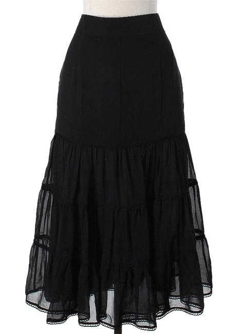 Preload https://item1.tradesy.com/images/costume-national-black-silk-tiered-maxi-skirt-size-6-s-28-3339925-0-0.jpg?width=400&height=650