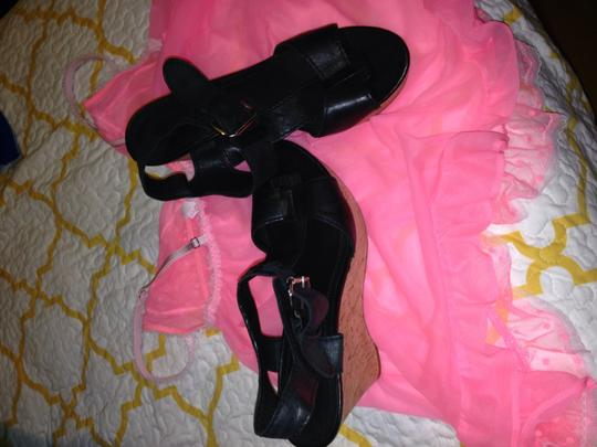 Franco Sarto Black Wedges Image 1