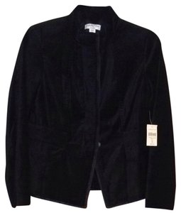 Coldwater Creek Black Velvet Blazer
