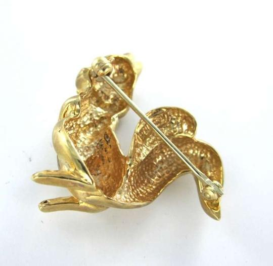 Other 14kt YELLOW GOLD pin Brooch Squirel Chip and Dale Vintage state