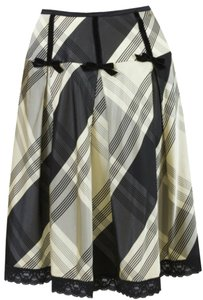Nanette Lepore Skirt Yellow/black