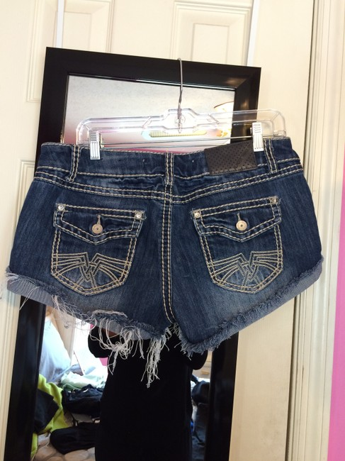 Almost Famous Clothing Denim Shorts-Distressed