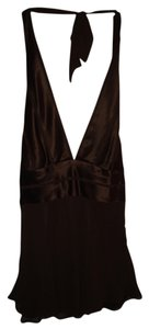 BCBGMAXAZRIA Top Chocolate Brown