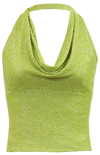 Preload https://img-static.tradesy.com/item/3340858/carmen-marc-valvo-green-beaded-halter-top-size-4-s-0-0-650-650.jpg